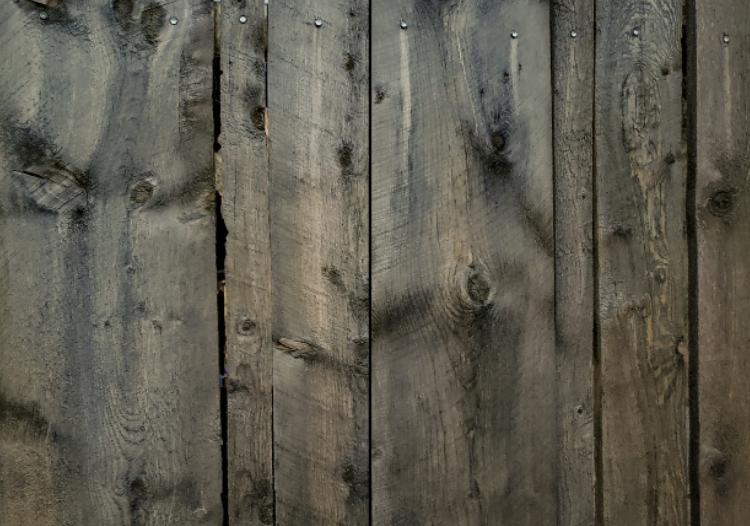 this image shows cedar fence in Fullerton, California