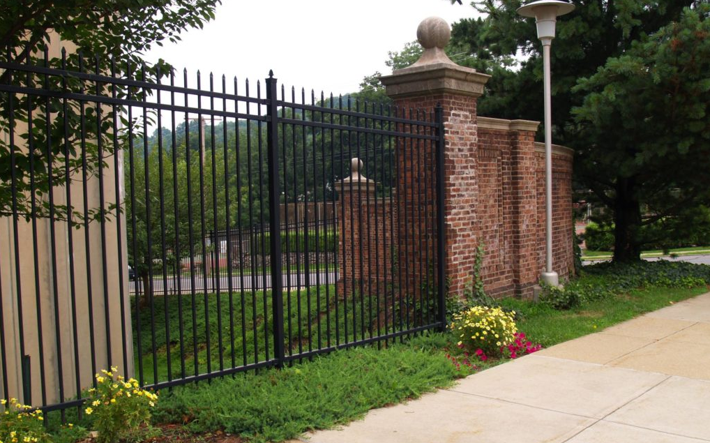 this image shows driveway gates and entry gates in Fullerton, California