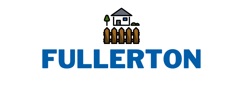 this image shows the logo of fullerton pro fence company