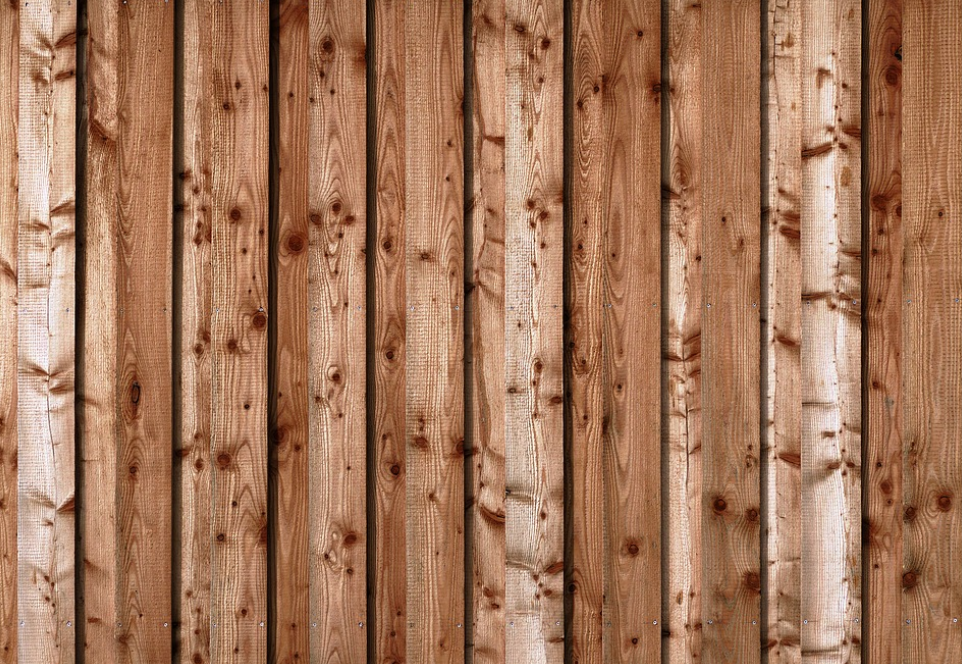 this image shows redwood fence in Fullerton, California